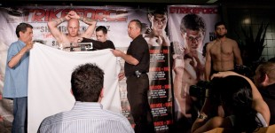 Shamrock vs Diaz Weigh In Photos