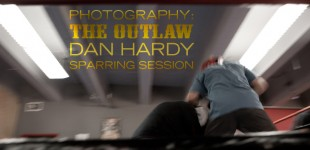 Photos: Dan Hardy Sparring