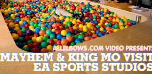 Vid: Mayhem & King Mo visit EA SPORTS Studios
