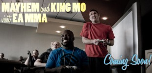 Mayhem & King Mo visit EA MMA Studios