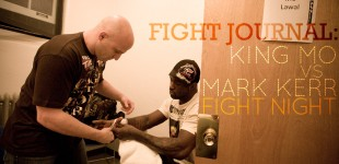 Fight Journal: King Mo vs Mark Kerr - FIGHT NIGHT