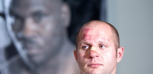 Photos: Fedor vs Rogers Post Presser