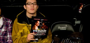 Shinya Aoki at the fights