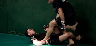 Jake Shields and Tareq Azim