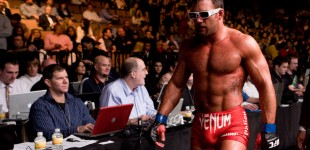 Phil Baroni walks away
