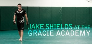 Photos: Jake Shields at the Gracie Academy