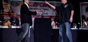 Shamrock vs Diaz presser