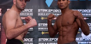 Matt Lindland and Jacare Souza