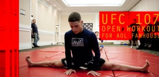 UFC 107 Workout Photos for Fanhouse