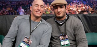 Georges St Pierre and Gegard Mousasi