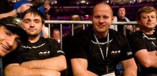 Fedor with Mousasi popping into picture