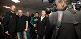 Dana White and gym VP Adam Sedlack