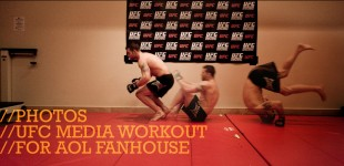 UFC 109 Workout for AOL Fanhouse