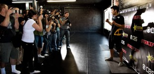 Shinya Aoki and the press