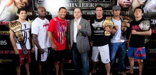 Strikeforce: Nashville Media Workout +