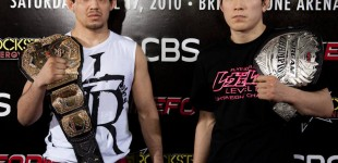 Gilbert Melendez and Shinya Aoki