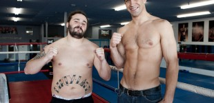 Dirty and Luke Rockhold compare physiques
