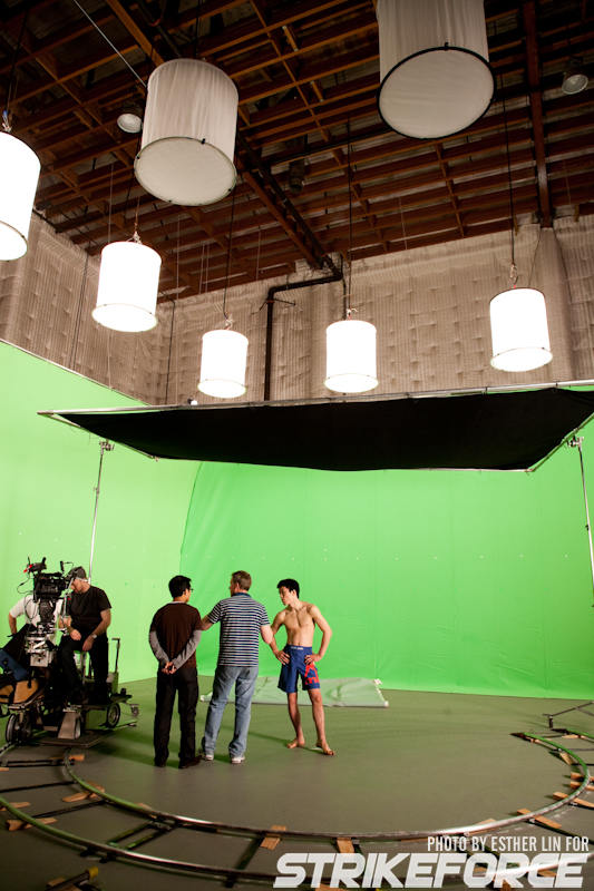 all elbows » Archive » Greenscreen + New Studio