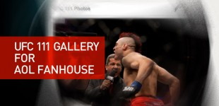 UFC 111 for AOL Fanhouse
