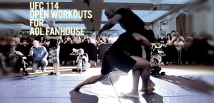 UFC 114 Workouts