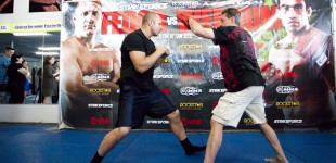 Strikeforce Media Workout + Presser