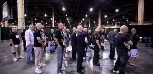 Dana White Lookalike contestants waiting