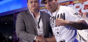 Scott Coker and Cyborg