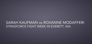 Kaufman vs Modafferi Fight Week