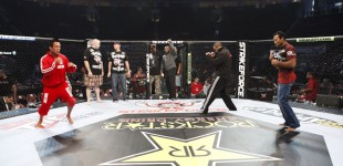 Cage check with Gurgel Feijao and Jacare