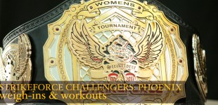 Strikeforce Challengers Phoenix Weigh