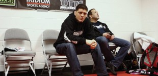 Nick Diaz backstage