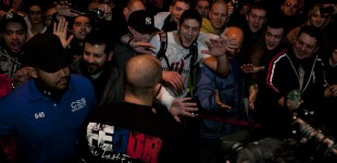 Fedor greeting fans