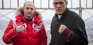 Fedor Emelianenko and Antonio Silva