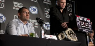 Cain Velasquez and Dana White