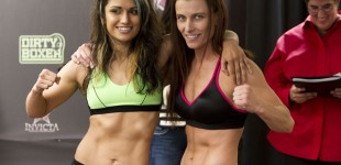 Nicdali Rivera-Calanoc and Amy Davis