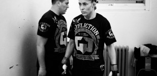 Marloes Coenen in locker room