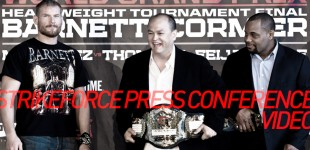 Strikeforce: Heavyweight Grand Prix Final Presser