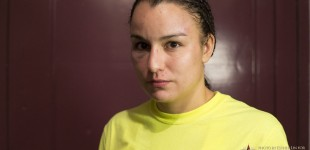 Raquel Pennington post-fight